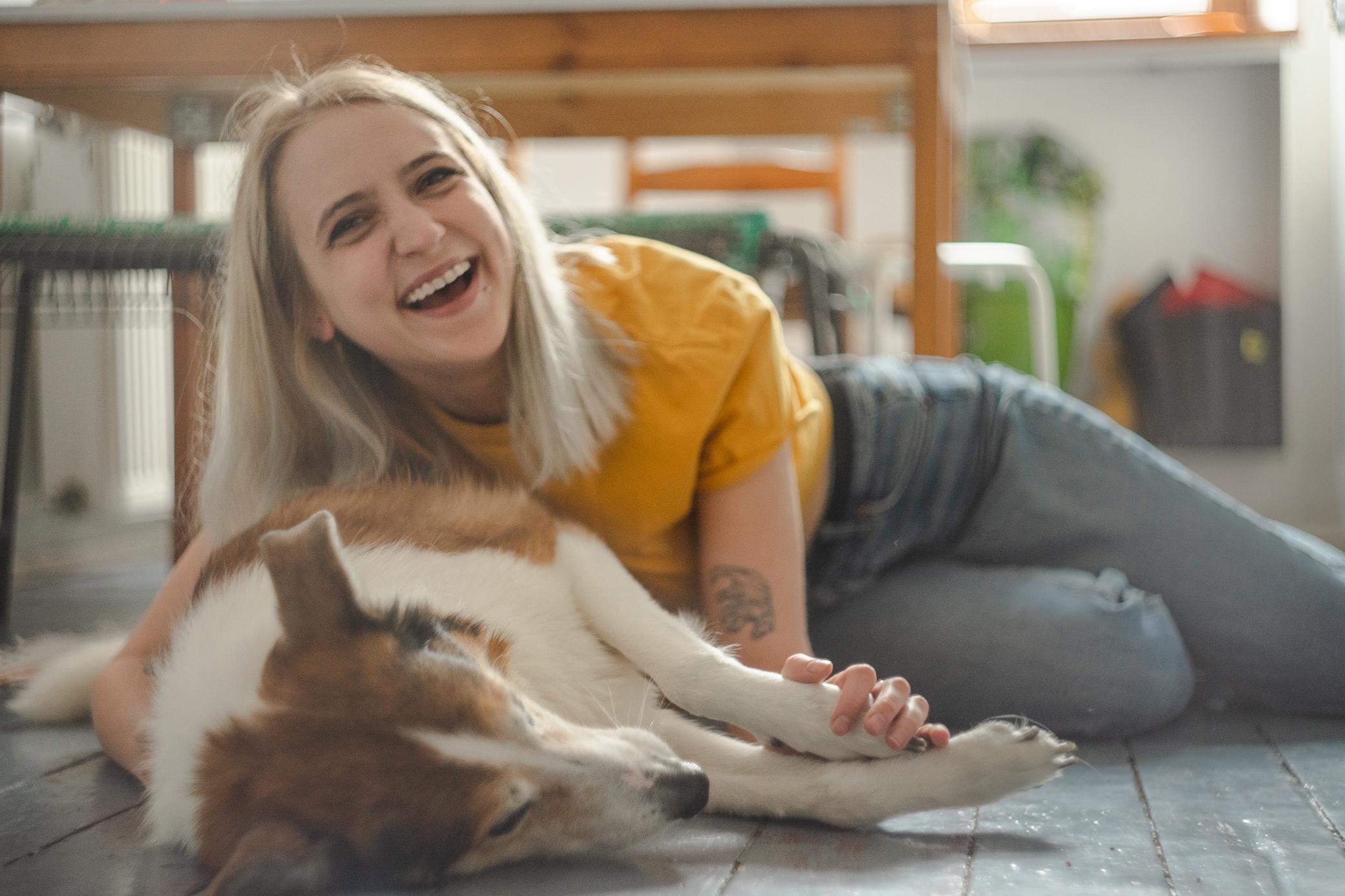naturalne sesje zdjęciowe kraków z psem