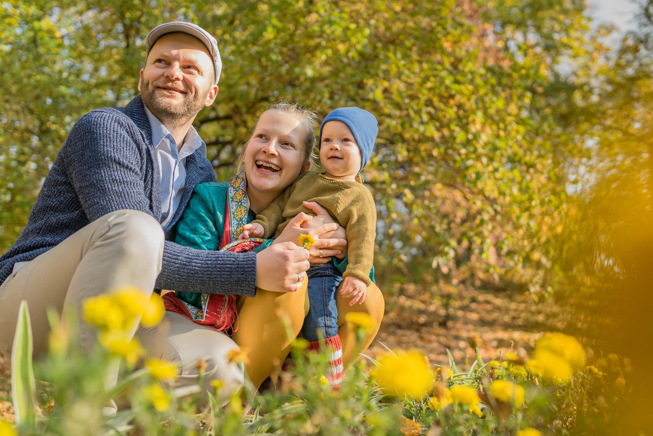 naturalne sesje zdjęciowe kraków rodzinne